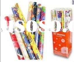 2012 Hot-sale gift wrapping paper for holidays