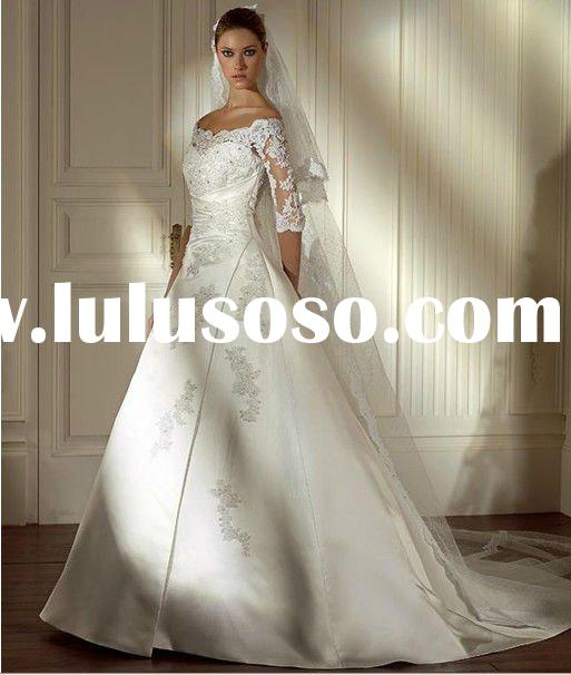 2012 Long Sleeve Lace Wedding Dresses WSH02002