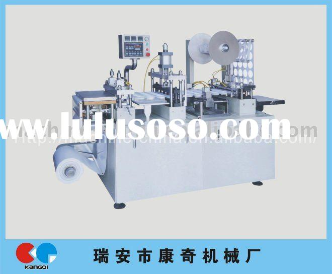 2012 new KQ350 automatic plastic cup lid thermoforming machine