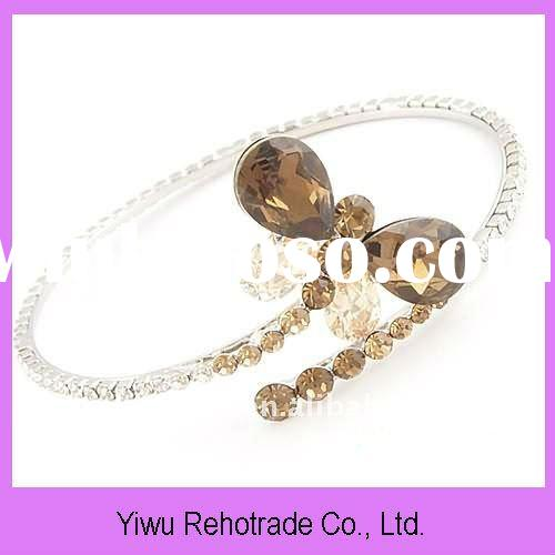 2012 new fashion crystal indian bangles