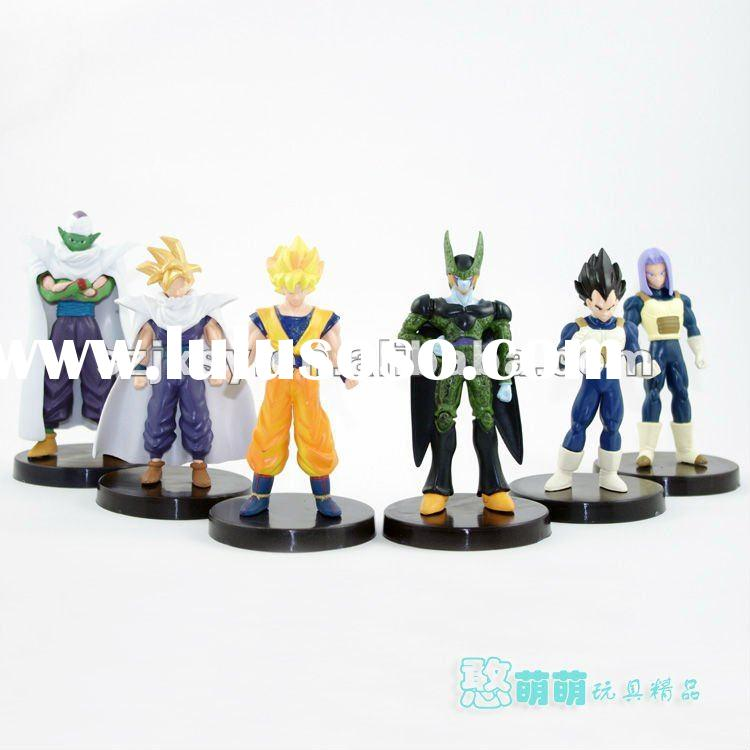 2012 new product naruto action figure plastic toy