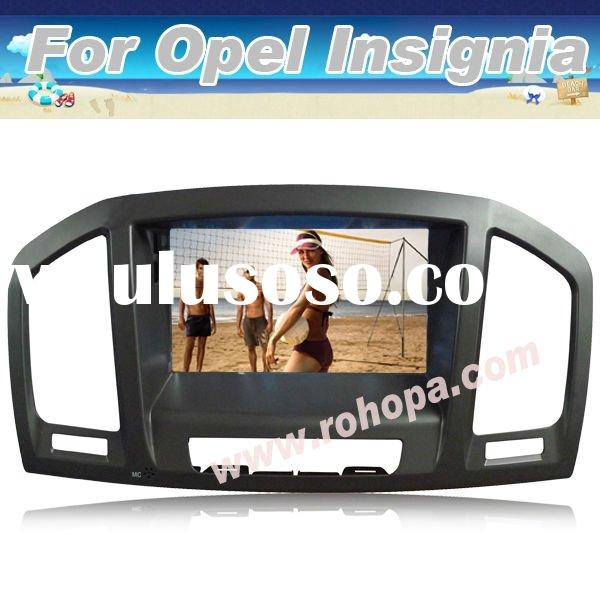 2 din digital screen best car dvd player with navigation for OPEL INSIGNIA