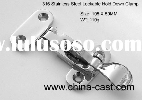 316 Stainless Steel Lockable Hold Down Clamp
