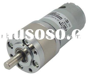 42mm high torque low speed drive gear motor with gear box