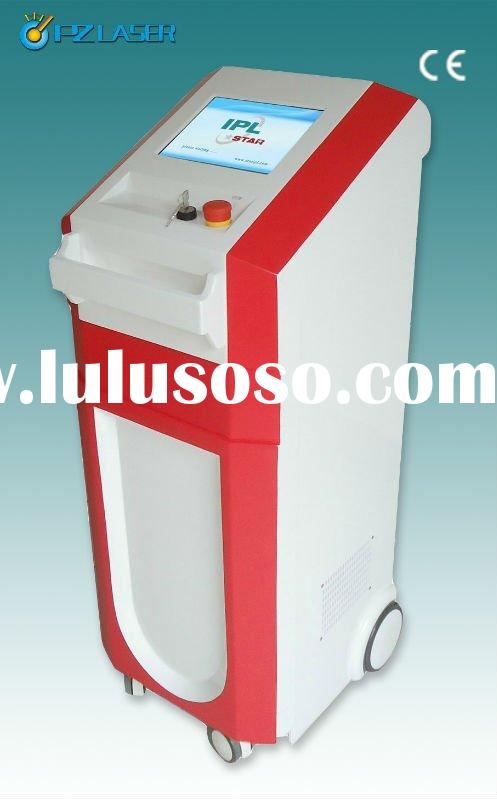 4in1!! E-light ipl rf nd yag laser hair removal machine