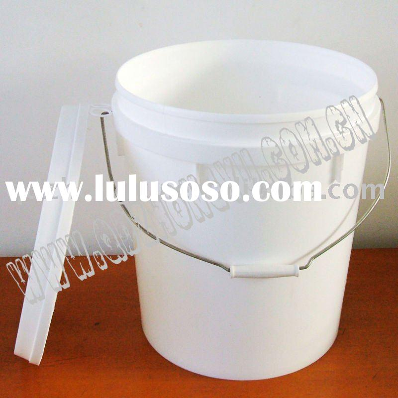 5 Gallon paint bucket with leak-proof lid