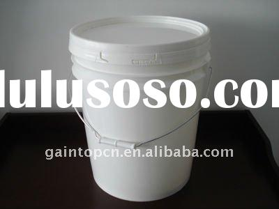 5 gallon food grade round plastic buckets with lids and handle