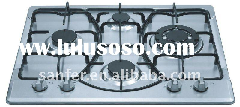 60cm Cast Iron Gas Stove 4 Burners