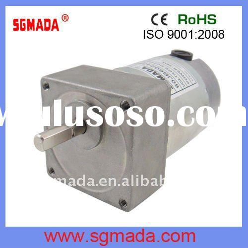 60mm high torque low rpm dc gear motor