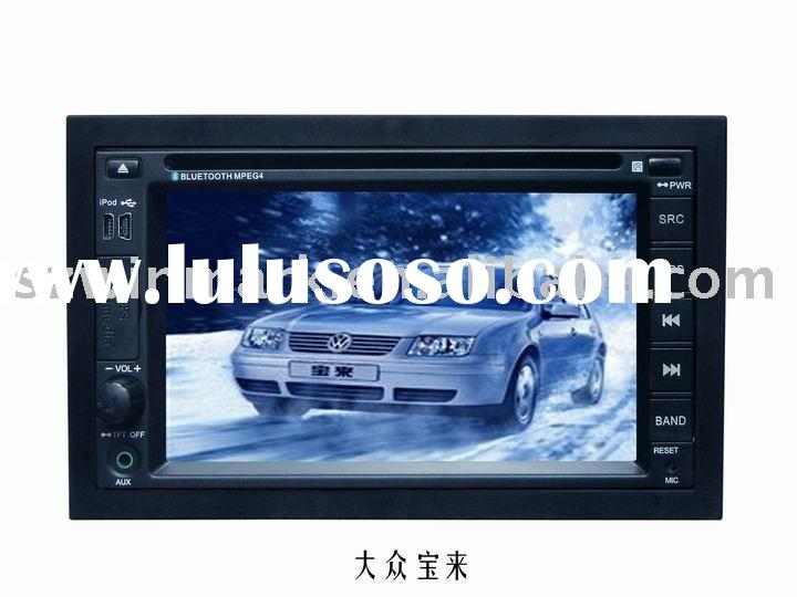 "6.2"" double din Car DVD player for VW-BORA"