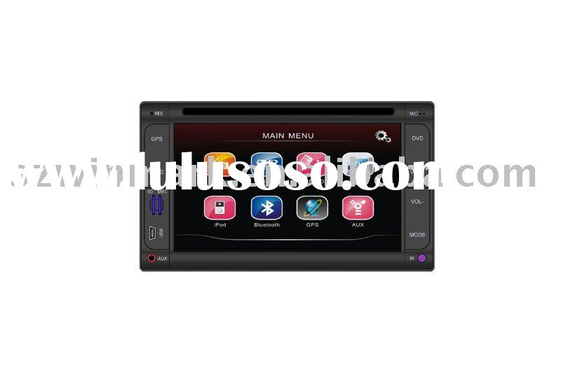 6.2 inch In dash 2 DIN Universal Car DVD with gps navigation