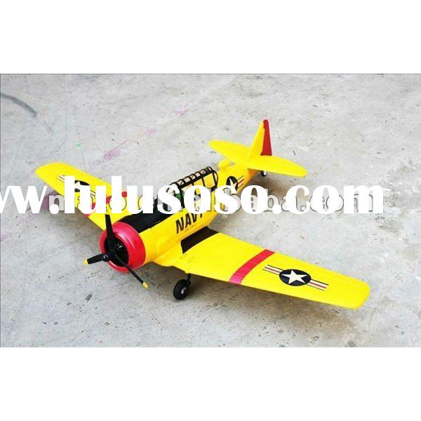 6-channel RC TEXAN AT-6 plane(2.4G Brushless), giant rc plane