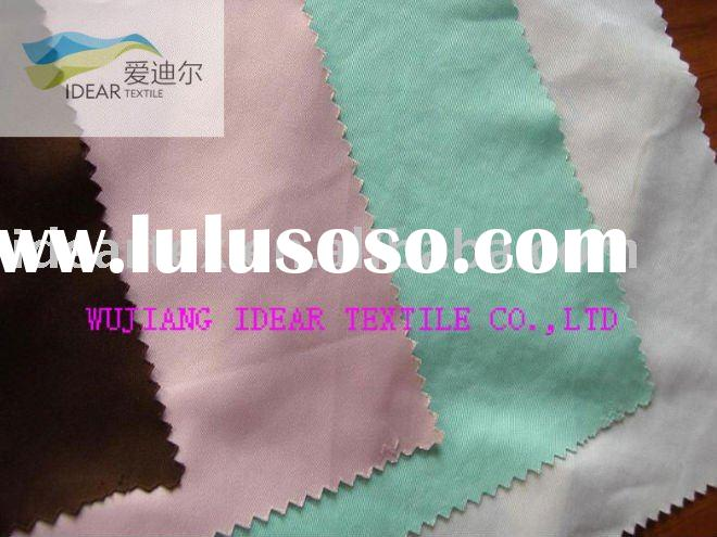 75DX150D 100% Polyester Plain Peach Skin Fabric For Beach Pants