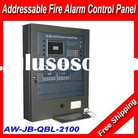 7.4 ' lcd wall mounted fire alarm panel///Addressable Fire alert Control System Panel JB-QBL