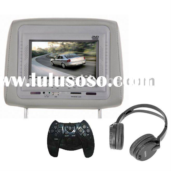 "7"" TFT LCD Car Back Seat TV for Car with Speaker/Games System/FM/USB/SD/IR(SJ-218HD)"