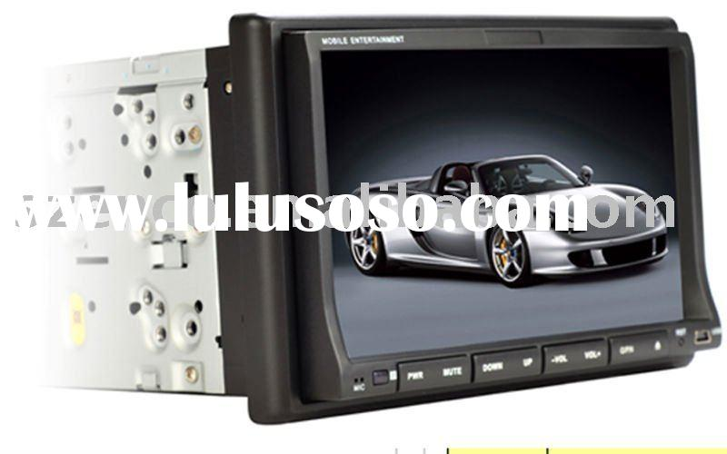 "7"" double din car gps /dvd player with touch screen"