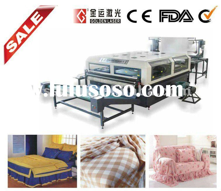 80W~ 200W Laser Roll To Roll Fabric Cutting Machine With Auto Feeder