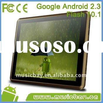 """9.7"""" RK2918 5 point multi touch android 2.3 dual Camera tablet PC"""