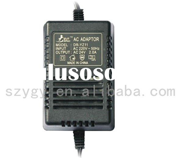 AC110V/220V/230V to AC 12V/24V linear power supply adapter