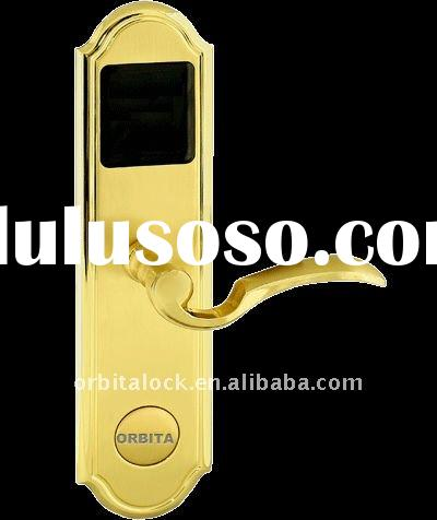 ANSI standard mortise hotel door lock(with card encorder,software,data collector)