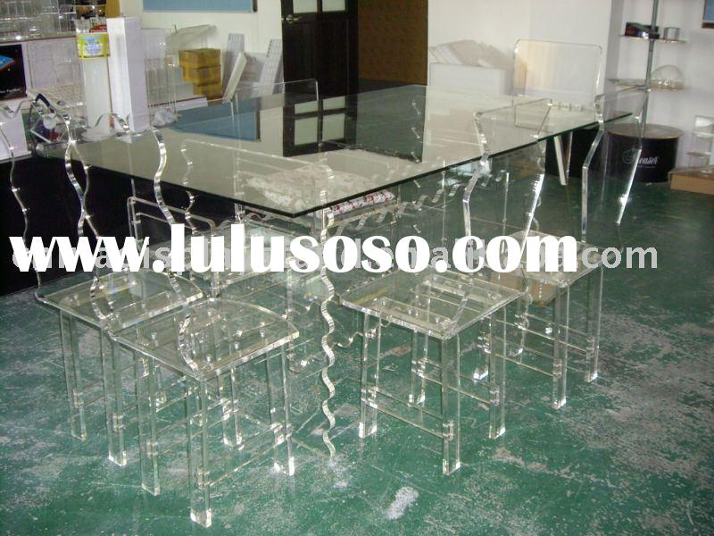 Acrylic furniture, lucite furniture, plexiglass furniture, persepx furniture, acrylic dinning chair,