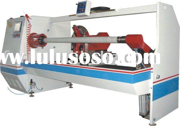 Adhesive drywall tape cutting machine