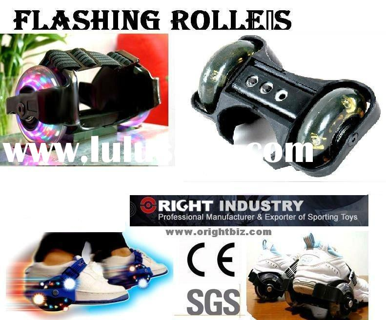 Adjustable Flashing Light Rollers,Kids Roller skate skating wheels W, roller skate shoes for kids(Wa