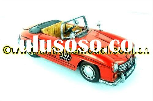 Antique Model Car (Mercedes 300SL Gullwing 1:12-Scale)