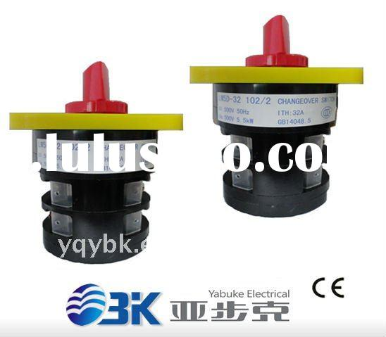 Auto changeover switch mini circuit breaker mcb