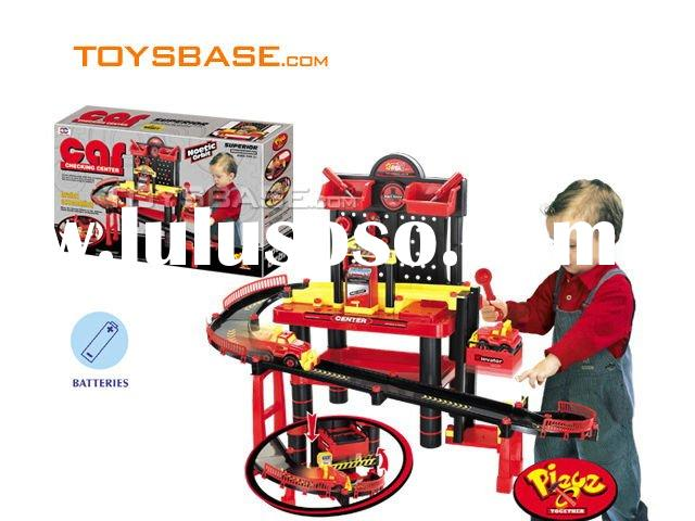 B/O play set ,DIY Reparing Car Garage ,Kids play toy