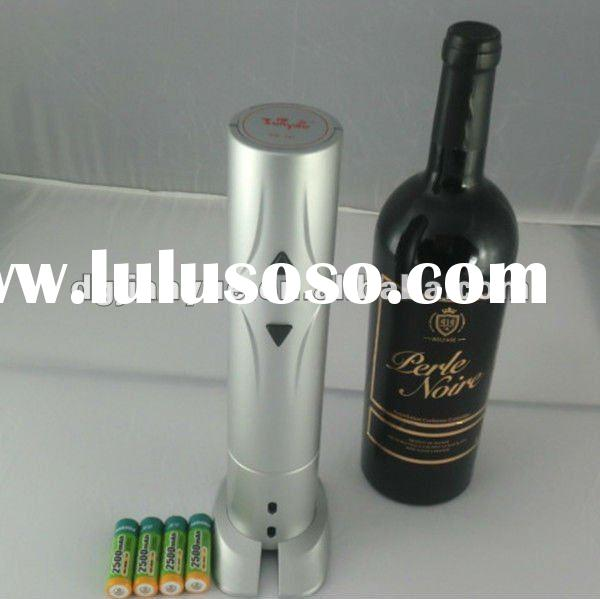 Battery operated electric wine opener