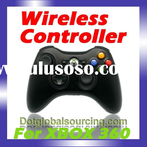 Black Glossy Wireless Controller For xBox 360 For xBox360 Elite Pro Slim S Video Game