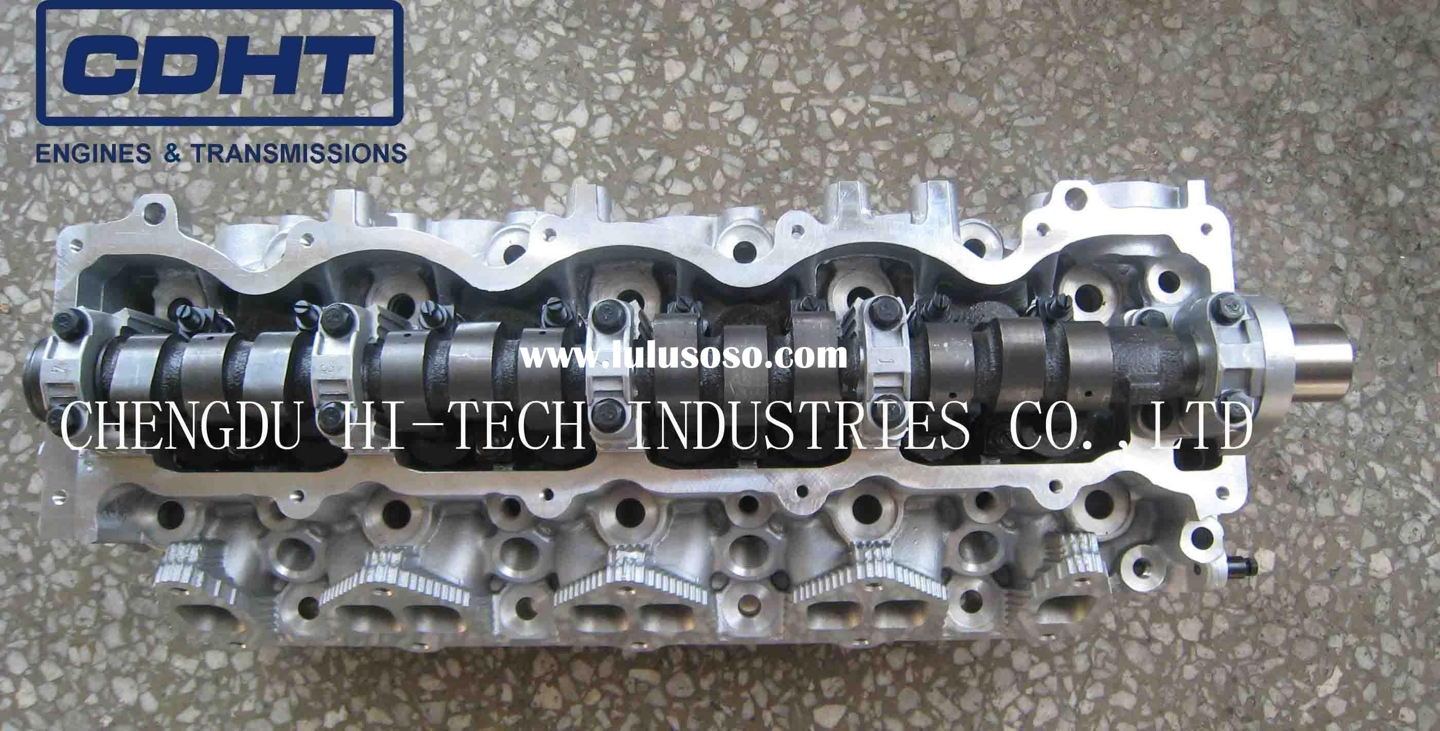 CYLINDER HEAD FOR MAZDA/FORD WL/WLT CYLINDER HEAD, 2.5L DIESEL, WITH CAMSHAFT AND VALVES.