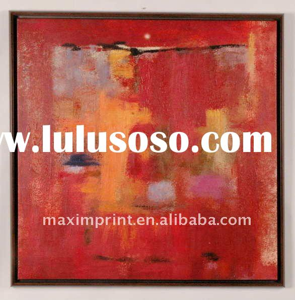 Canvas painting Oil Painting Art With Black Frame
