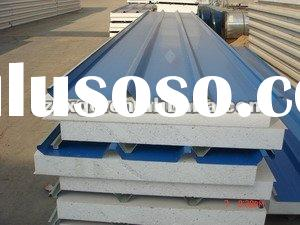 Colored Galvanized Steel Styrofoam Roof Panels