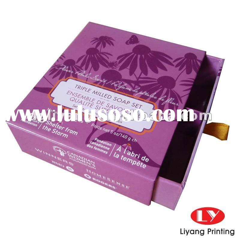 Cardboard Candle Packaging Candle Packaging With Tray