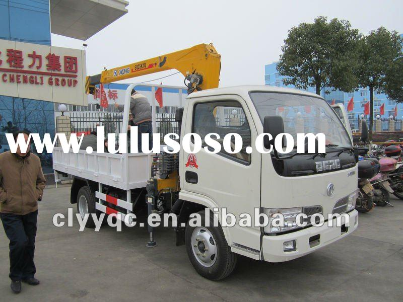 DF mini truck with loading crane