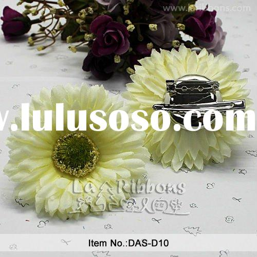 Decorative Artificial Flower, Hand-made Flower,Wedding Decoration Fabric Flower