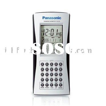 Digital LCD World Time Clock,LCD travel alarm clock,world time piece,travel clock,LCD clock,promotio