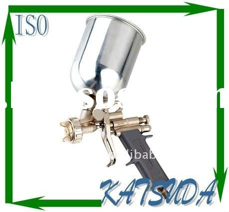 E70 600ml top Aluminum cup zinc alloy gun body Spray Paint Gun