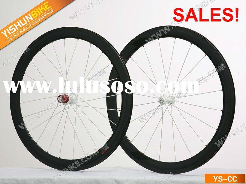 FREE SHIPPING! SALES! YS-CP50C 50MM carbon clincher wheelset
