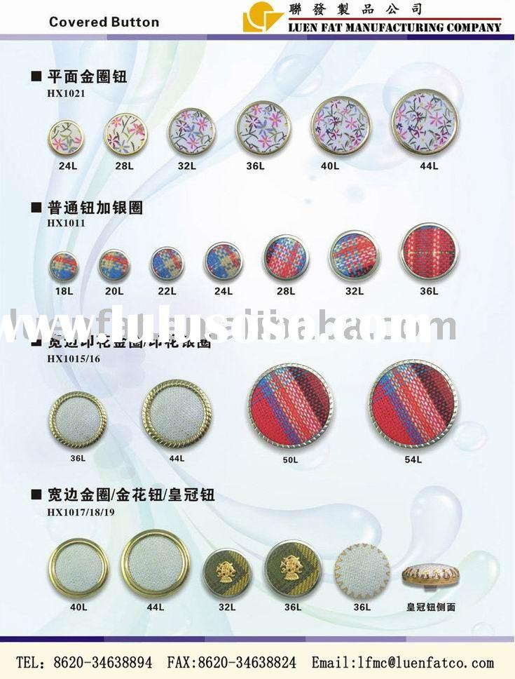 how to make cloth covered button earrings