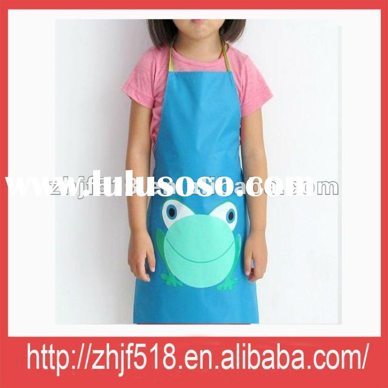 Factory production directly kids aprons wholesale(M150015B)
