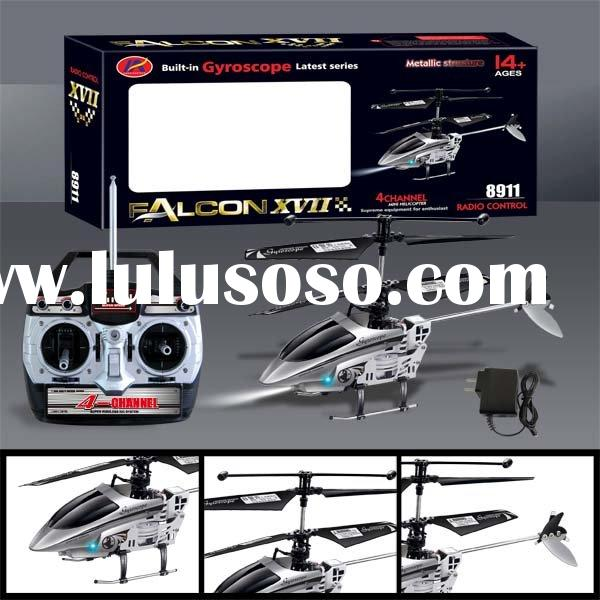 Falcon-8911 GYRO Mini Metal Radio Control 4 Channels Helicopter