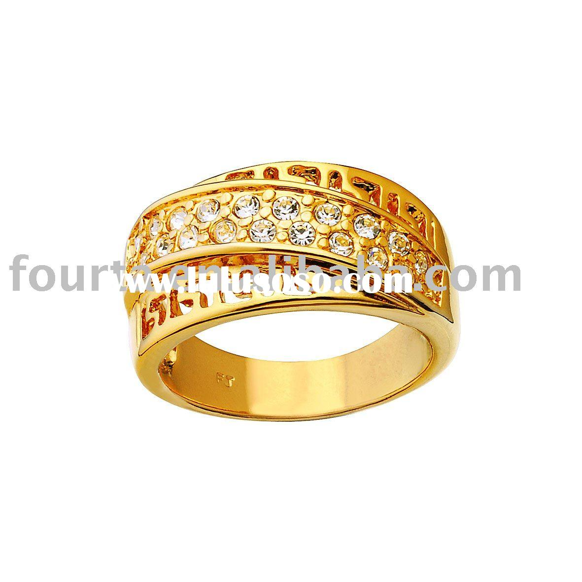 Fashion 18k gold jewelry rings 13200147