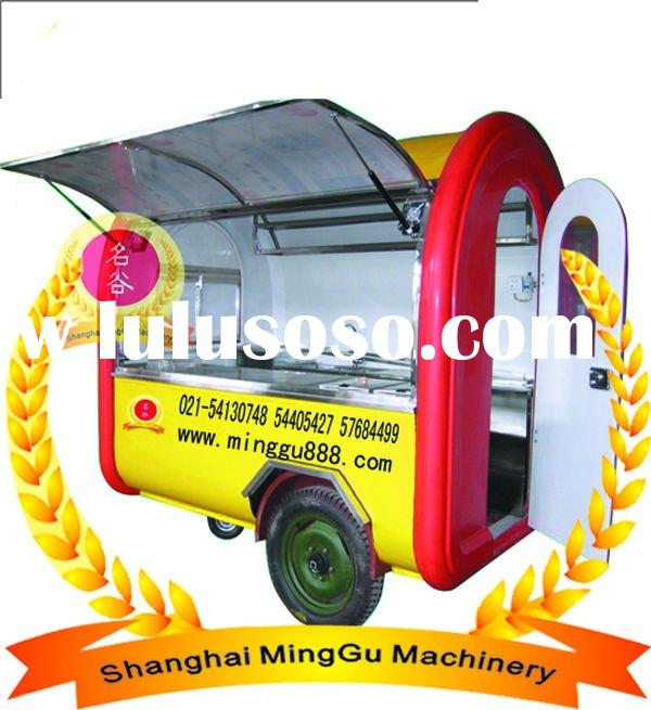 Fashion food van/Catering trailer/Concession trailer/food service trailer(CE&ISO9001 Approval,Ma