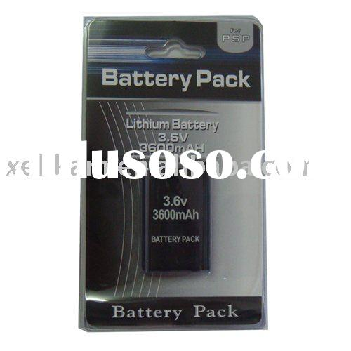 For SONY PSP3000 3600mAh rechargeable battery pack for PSP3000 battery pack