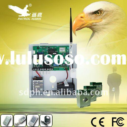 GSM Temperature alarm and security system