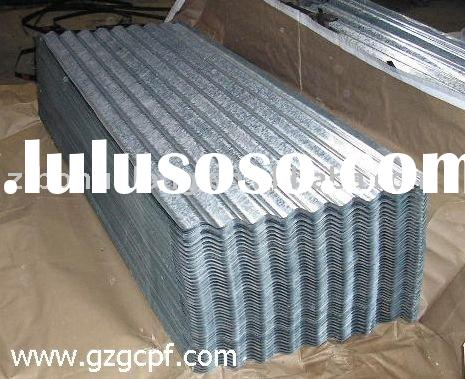Galvanized steel roof sheet
