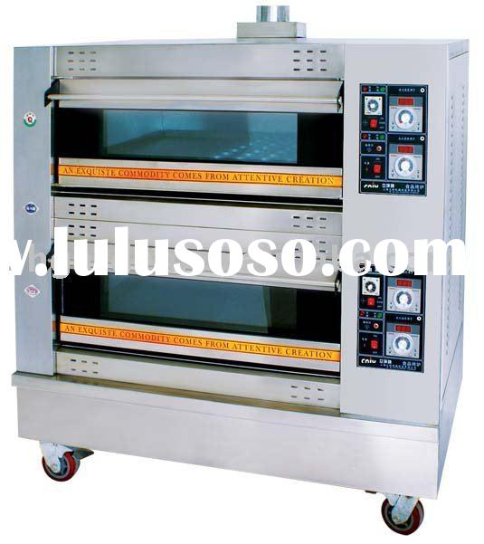 Gas oven/deck oven/bread oven/bread machine(manufacturer)